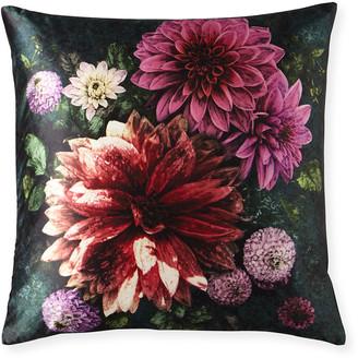 Designers Guild Dahlia Noir Fuchsia Pillow