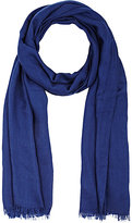Colombo MEN'S CASHMERE-SILK TWILL SCARF