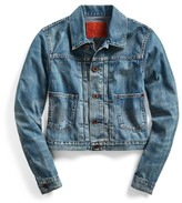 Ralph Lauren Cropped Denim Jacket