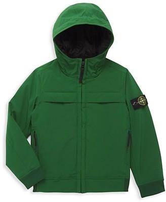 Stone Island Little Boy's & Boy's Hooded Jacket