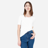 Everlane The Pima Stretch Mid-Sleeve