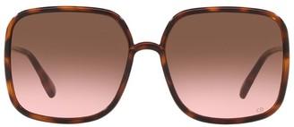 Christian Dior So Stellaire 1 Square Sunglasses