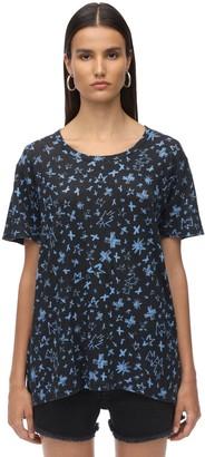 Zadig & Voltaire Printed Linen Jersey T-shirt