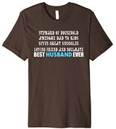 Men's Best Husband Ever Shirt Father's Day Gifts For Him Tshirt 2XL