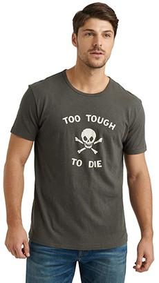 Lucky Brand Too Tough To Die Tee (Black Mountain) Men's Clothing
