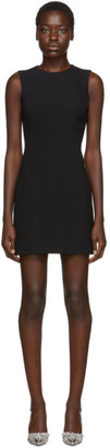 Dolce & Gabbana Black Sleeveless Flared Dress