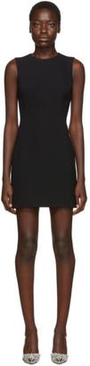 Dolce & Gabbana Black Sleeveless Flared Dress