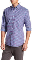 Tailorbyrd Plaid Long Sleeve Woven Shirt