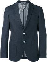 HUGO BOSS classic blazer - men - Cotton/Polyamide/Spandex/Elastane/Viscose - 48