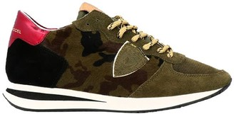 Philippe Model Military Green Trpx Sneakers