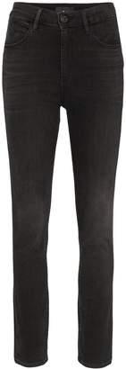 3x1 Channel Seam Skinny Jeans