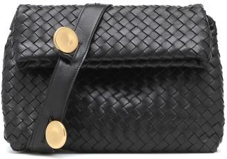 Bottega Veneta Fold Small leather crossbody bag