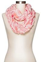 Merona Women's Chevron Infinity Scarf Pink