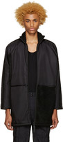 Cottweiler Black Oversized Coat