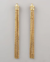 Paige Novick Shoulder-Sweeping Tassel Earrings