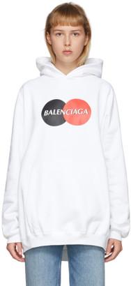 Balenciaga White Uniform Hoodie