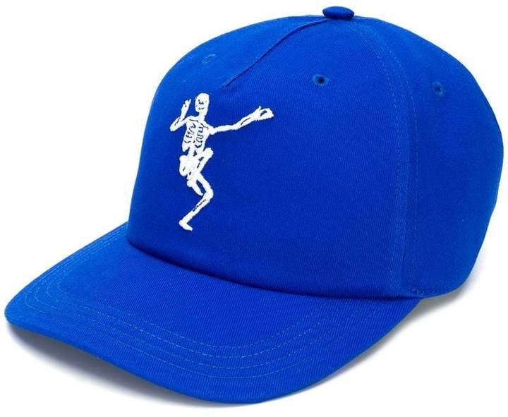 Alexander McQueen Dancing Skeleton cap
