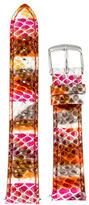 Michele 18MM Multicolor Watch Strap