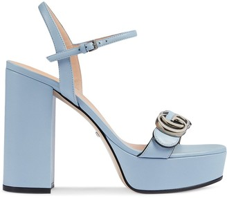 Gucci 115mm Block Heel Sandals