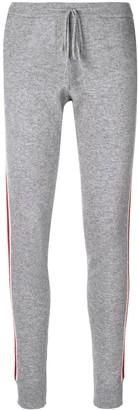 Parker Chinti & drawstring side-stripe trousers