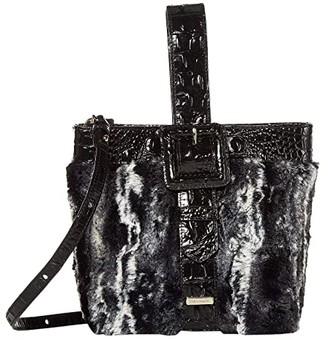 Brahmin Wichita Faith Shoulder Bag (Black) Shoulder Handbags