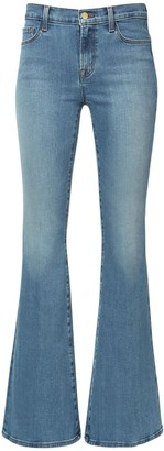J Brand Valentina High Waist Flared Denim Jeans