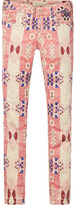Scotch & Soda Le Voyage - Printed Trousers | Super Skinny Fit