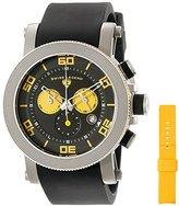 Swiss Legend Men's 30465-01-YA Cyclone Analog Display Swiss Quartz Black Watch