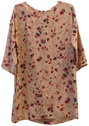 Masscob Multicolour Silk Dress for Women