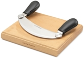 Cole & Mason Mezzaluna Knife and Board Set