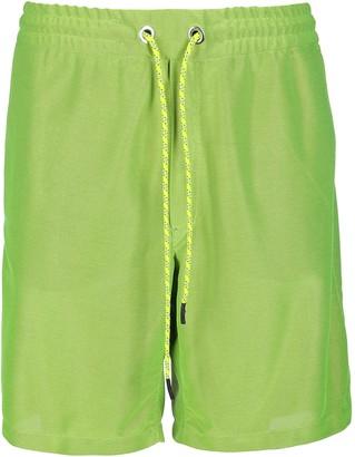 Iceberg Green Track Shorts