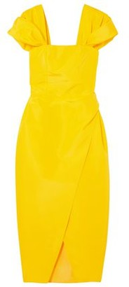 Carolina Herrera Silk-faille Midi Dress