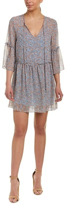 BCBGeneration Women's Printed Chiffon Dress