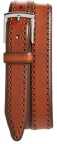 Johnston & Murphy Men's Perforated Leather Belt