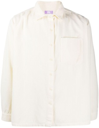 ERL Corduroy Spread-Collar Shirt