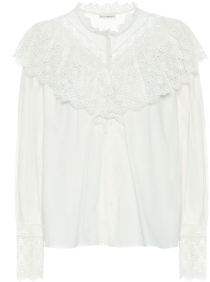 Ulla Johnson Ethel cotton-poplin blouse