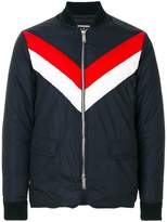 DSQUARED2 striped bomber jacket