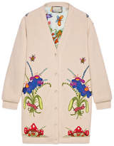 Gucci Unskilled Worker wool cardigan