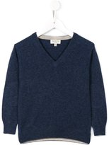 Cashmirino - V-neck knitted jumper - kids - Cashmere - 2 yrs