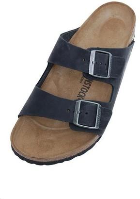 Birkenstock Arizona BS 0752483 Soft Footbed Black Narrow Fit Sandals - 43