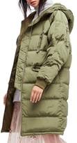 Free People Women's Raglan Long Puffer Coat