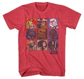 Star Wars Boys' Graphic Tee - Red XL