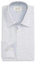 Ted Baker Men's 'Covell' Trim Fit Graphic Dress Shirt