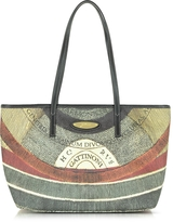 Gattinoni Planetarium Medium Top Zip Tote