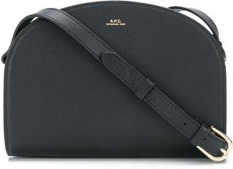 A.P.C. Logo-Print Crossbody Bag