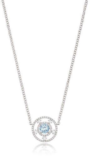 Kiki McDonough Apollo 18k Gold, Blue Topaz & Diamond Necklace