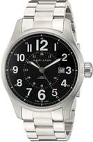 Hamilton Men's H70615133 Khaki Field Officer Dial Watch
