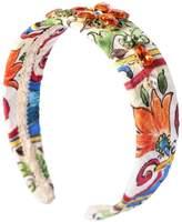 Dolce & Gabbana Embellished Maiolica Brocade Headband
