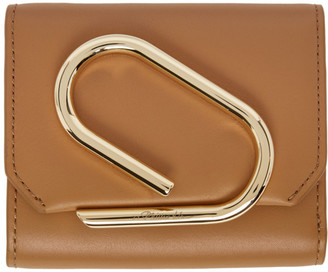 3.1 Phillip Lim Tan Small Alix Flap Wallet