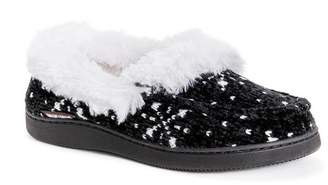Muk Luks Jana Faux Fur Moccasin Slipper